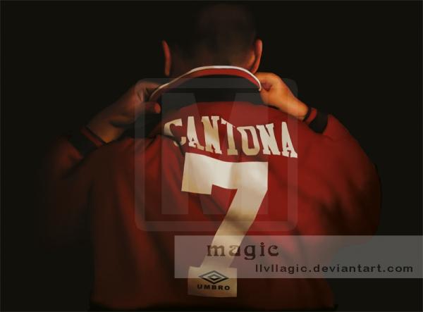 Eric Cantona by magic